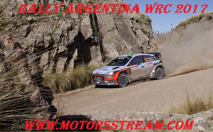 Watch Rally Argentina WRC 2017 Live Coverage