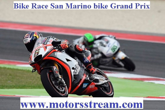 San Marino bike Grand Prix Live
