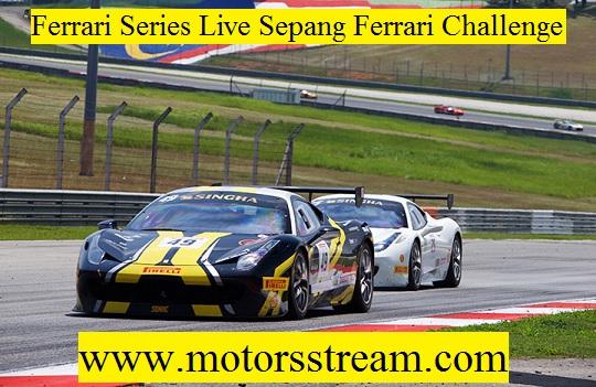 Sepang Ferrari Challenge Live