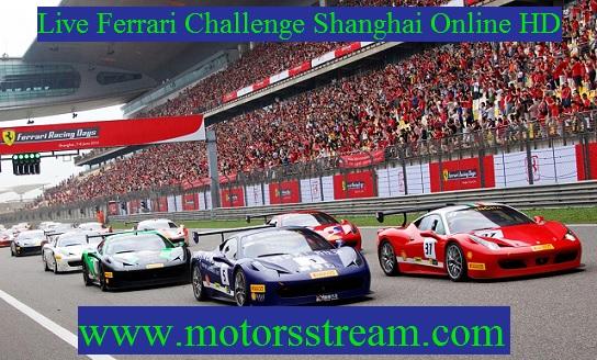 Shanghai Ferrari Challenge Live