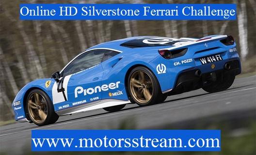 Silverstone Ferrari Challenge Live