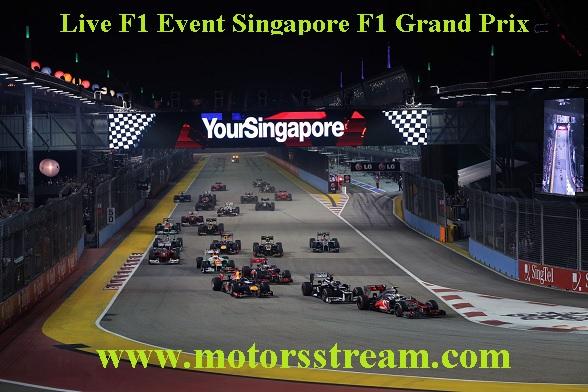 Singapore F1 Grand Prix Live