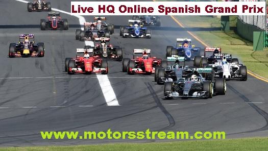 Spanish F1 Grand Prix Live