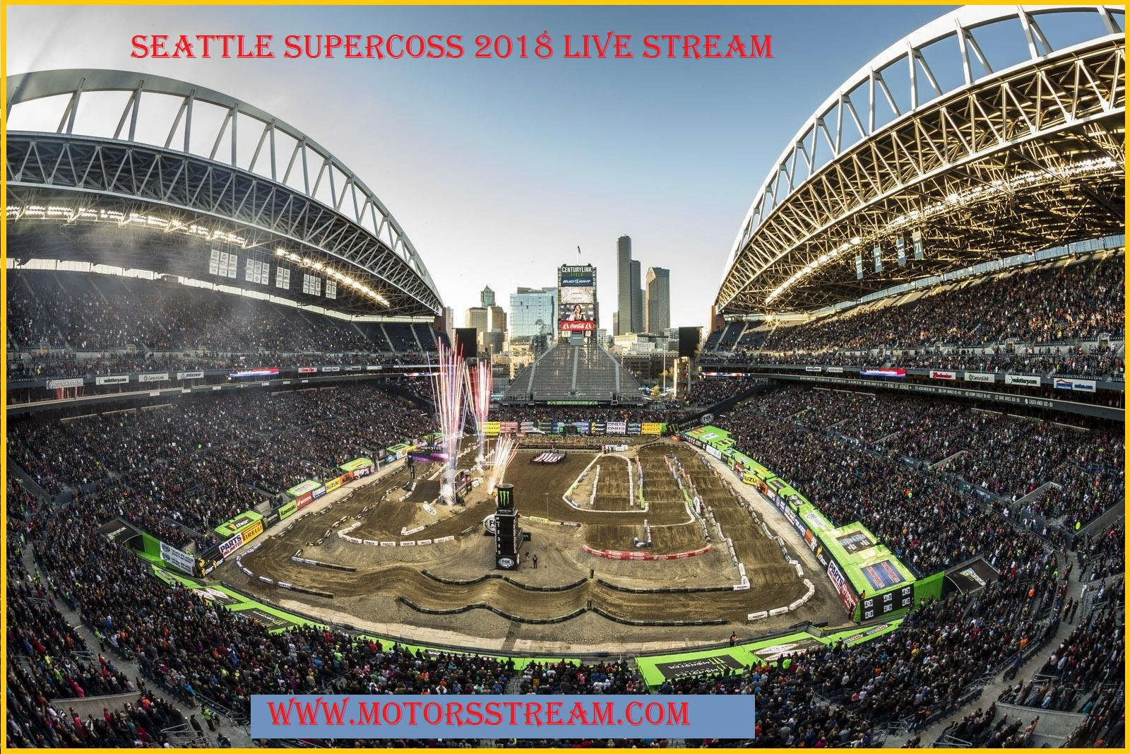 Supercross seattle 2018