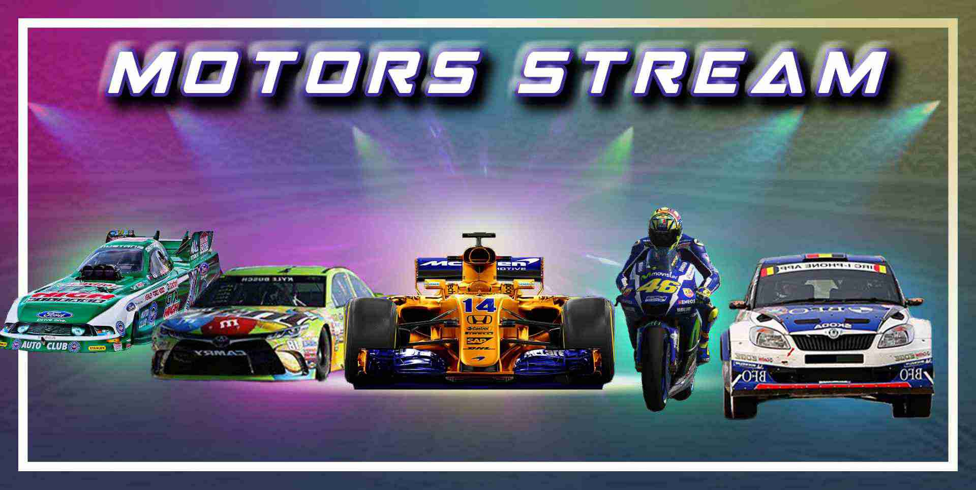 All Motorsports Live Stream On One Place slider