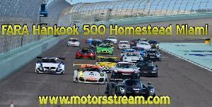 Hankook 500 Miami Live streaming