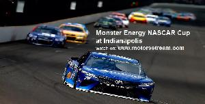 Live NASCAR Cup at Indianapolis
