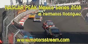 Live NASCAR Mexico at Hermanos