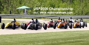 Live USF2000 Championship at Portland
