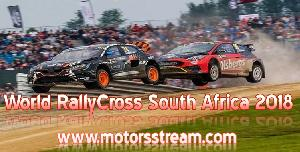 Live stream World RX South Africa 2018