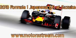 Live streaming 2018 Japanese GP