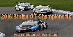 Live streaming British GT Donington